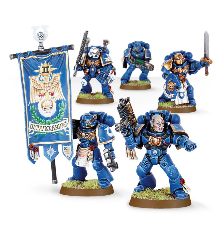 Space Marine Command Squad Games Workshop Webstore