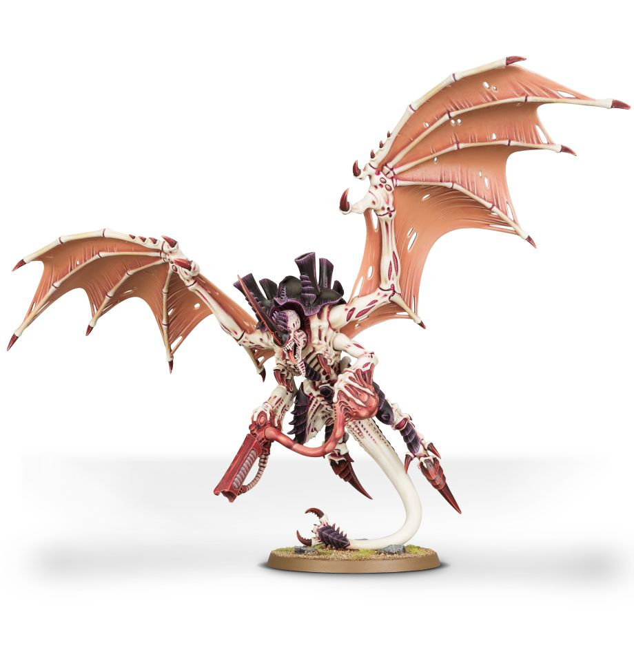 Tyranid Hive Tyrant. He's pretty, isn't he? And hungry too.  Image copyright Games Workshop