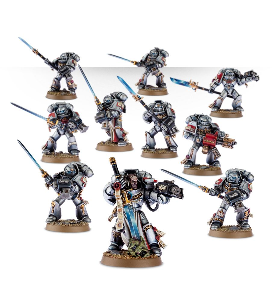 space marine scouts painting guide
