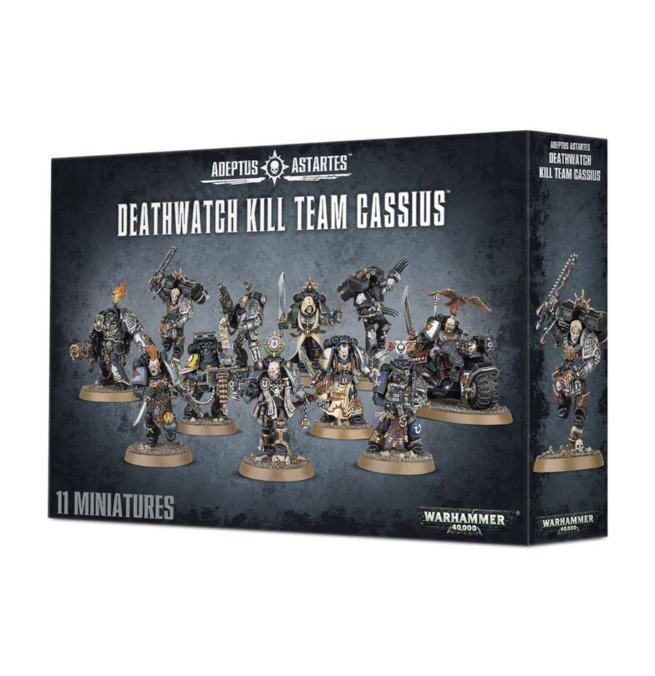 Warhammer 40k Deathwatch Kill Team Cassius Ultramarines Ortan Cassius N13