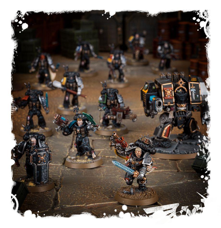 5 Warhammer 40k Games Workshop Deathwatch Rucksäcke- Space Marine