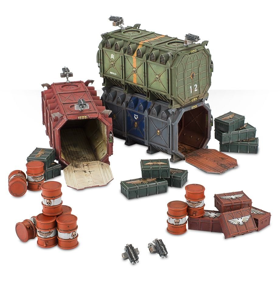 Munitorum Armoured Containers | Games Workshop Webstore