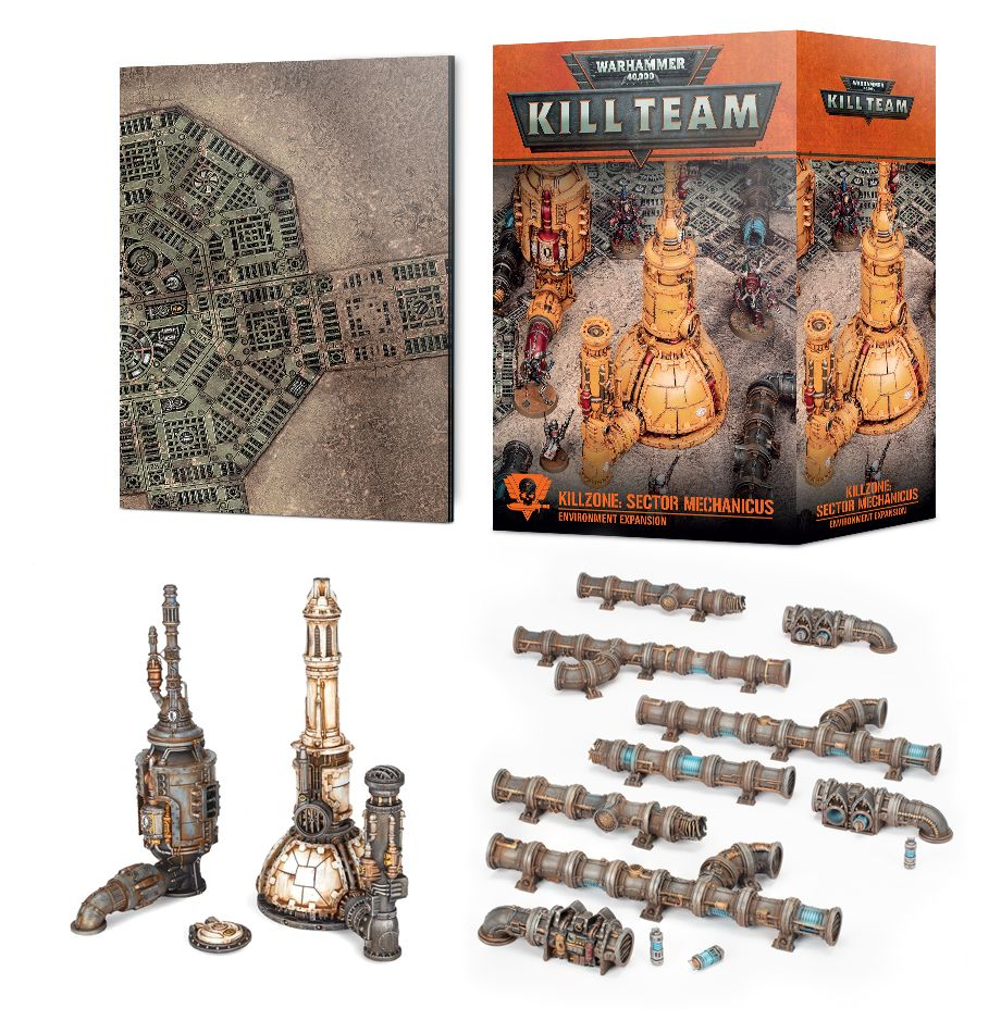 GAME STATE Singapore Kill Team Killzone: Sector Mechanicus Environment Expansion