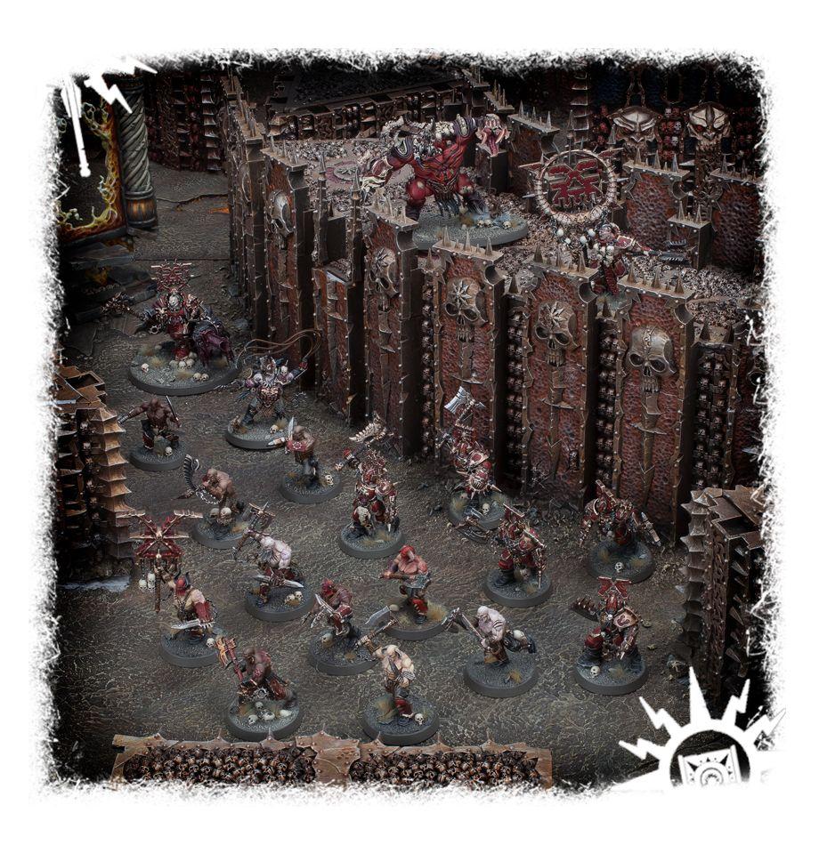 Games Workshop Warhammer Age of Sigmar Khorne Bloodbound Bloodreavers Boxed Set