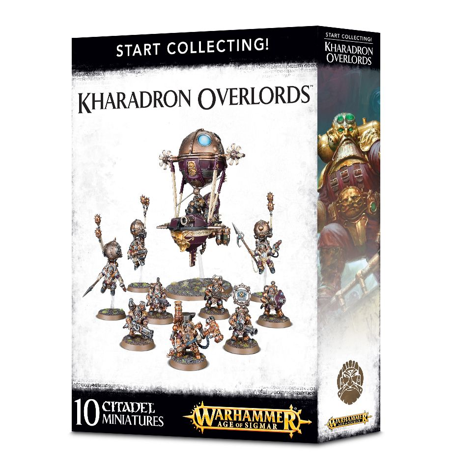 A picture of the Age of Sigmar Start Collecting box for Kharadron Overlords