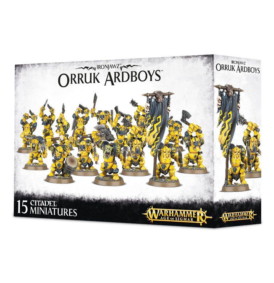 Ironjawz orruk megaboss WARHAMMER Age of Sigmar Games Workshop AOS GW Orques Oruk