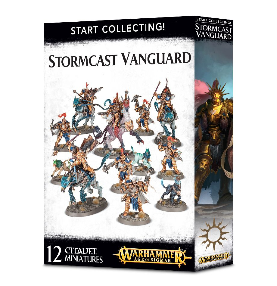 A picture of the Age of Sigmar Start Collecting box for Stormcast Vanguard