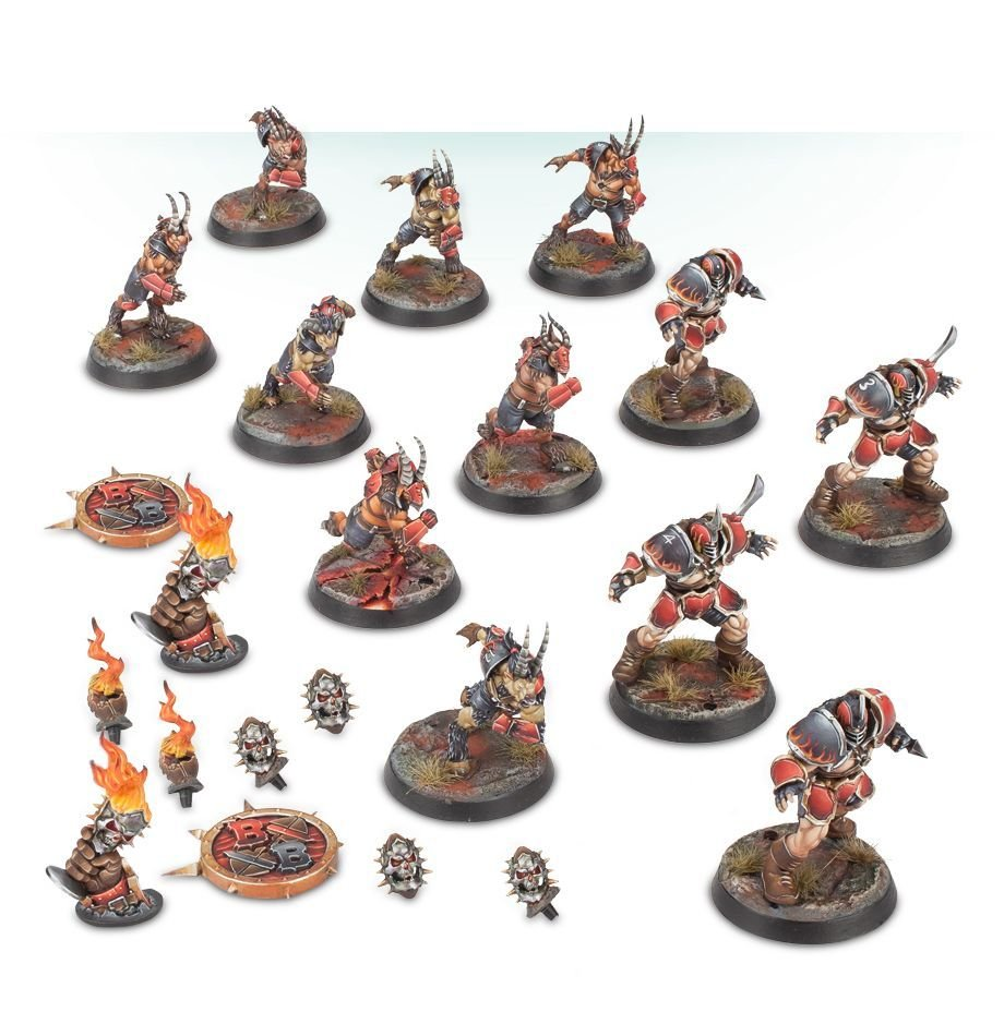 The Doom Lords - Chaos Chosen Blood Bowl Team | Games Workshop Webstore
