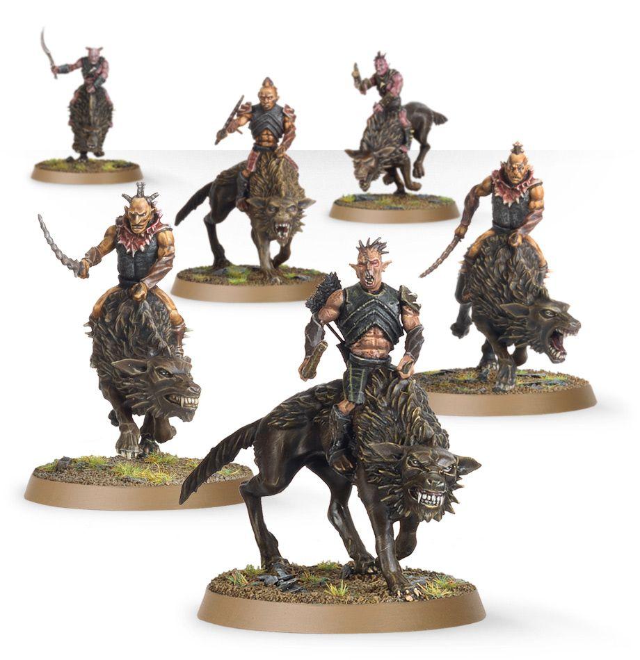 hunter orcs on fell wargs games workshop webstore
