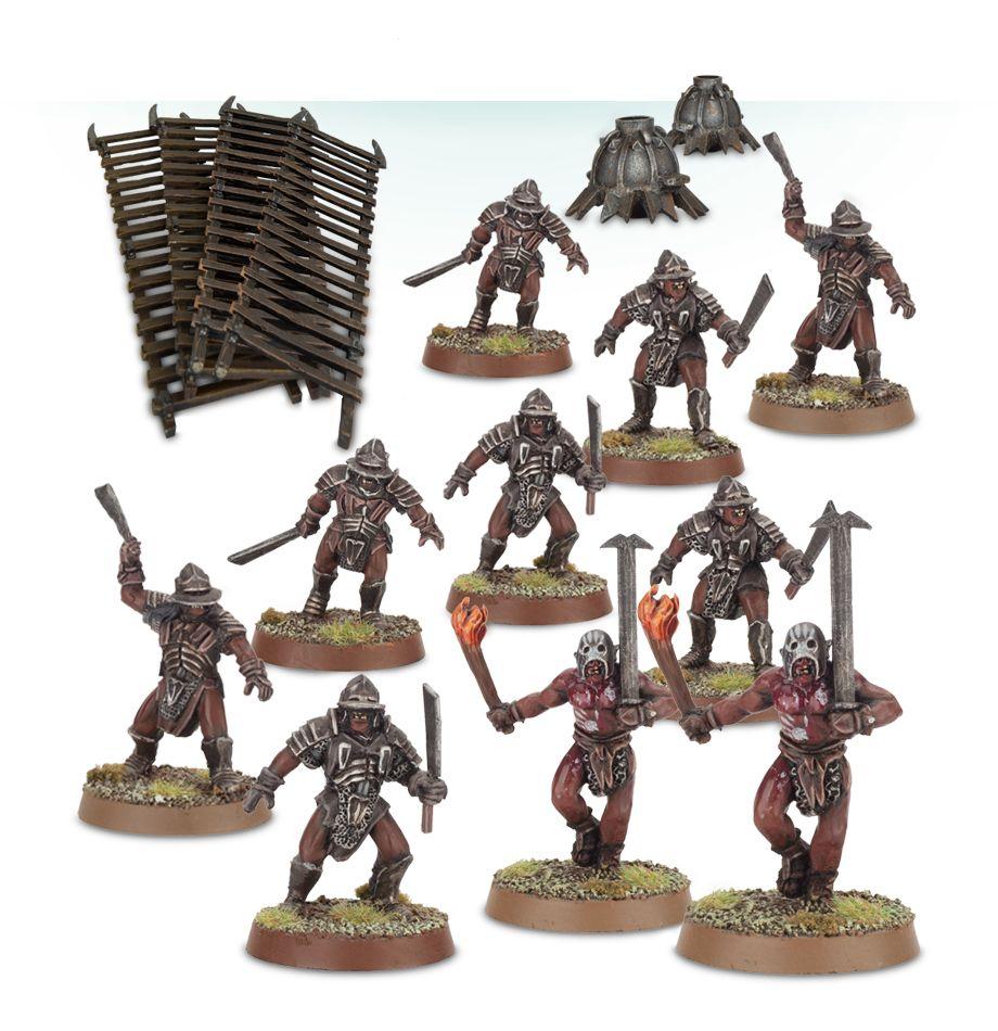 Uruk-hai™ Warriors The Hobbit Lord of the Rings Games Workshop