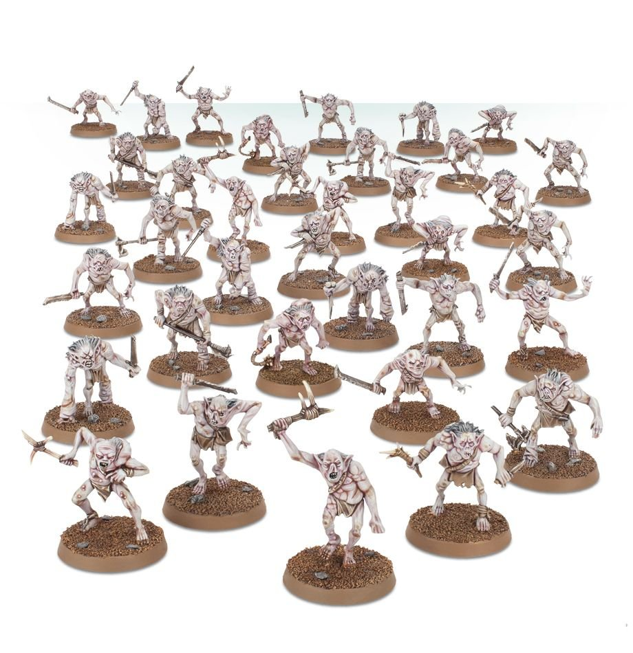 Games Workshop goblin miniatures