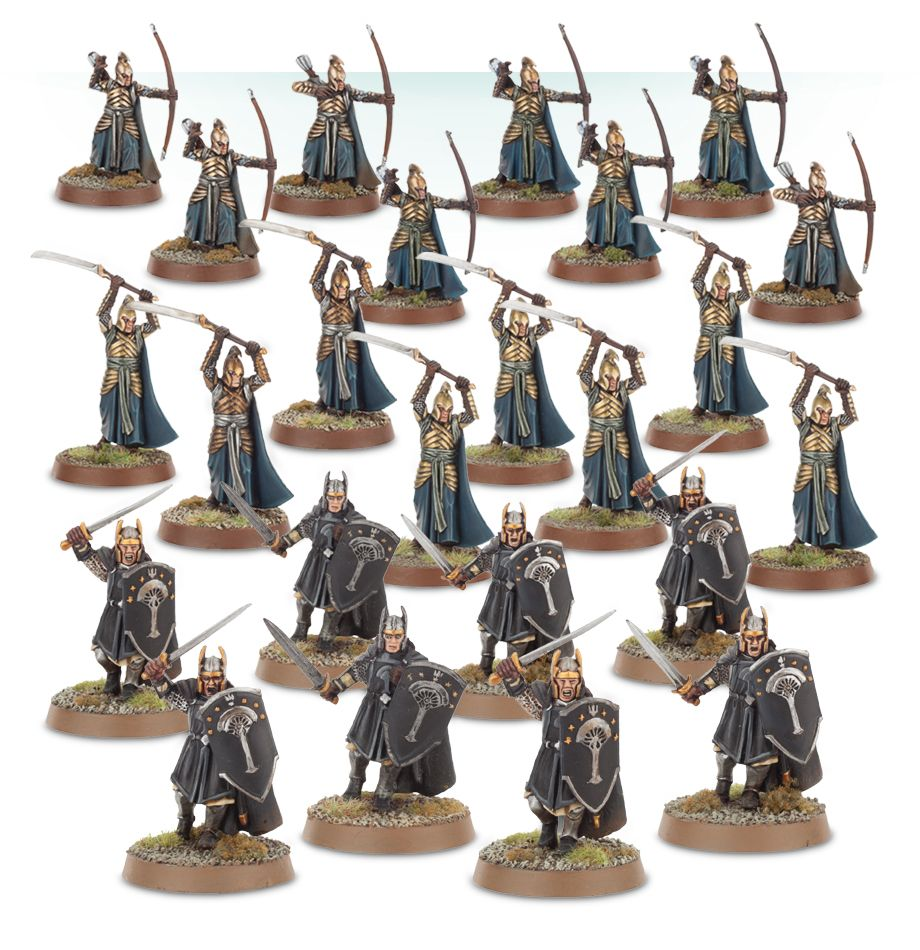 Warhammer Knights of Rivendell The Lord of the Rings plastic new