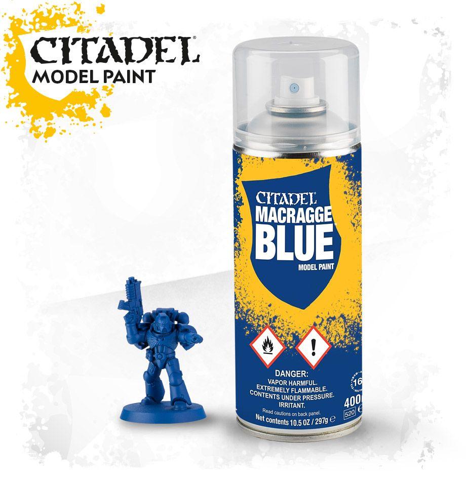 Kantor Blue Spray Paint
