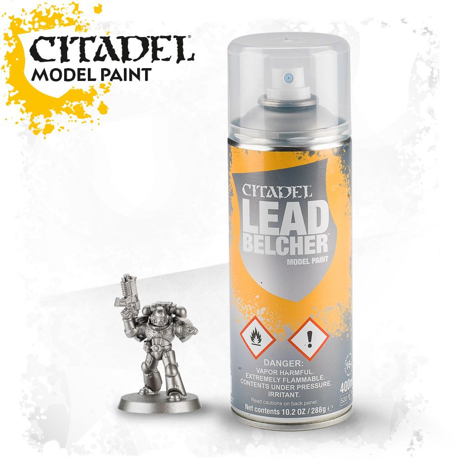 Leadbelcher Spray Paint