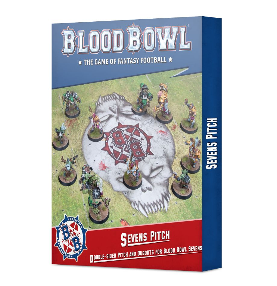 GAME STATE Singapore Sevens Pitch: Double-sided Pitch and Dugouts for Blood Bowl Sevens
