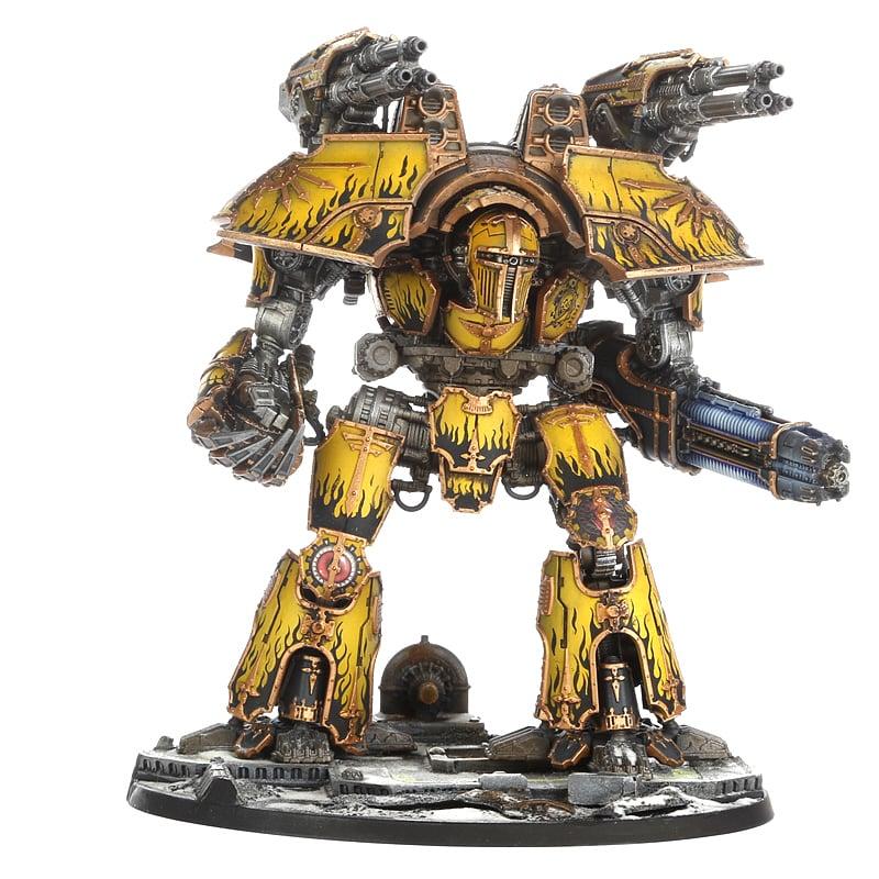 Warlord batalha Titan Com Plasma Aniquilador /& Pwr Garra Gaw 400-22