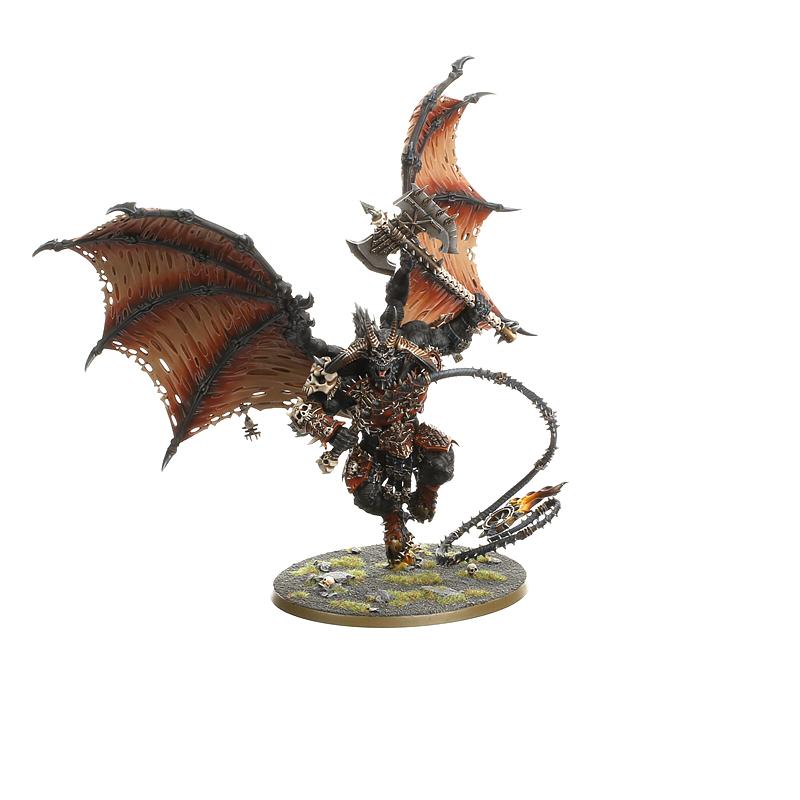 Warhammer 40000 Age of Sigmar Daemons Bloodthirster of Khorne Vente au détail