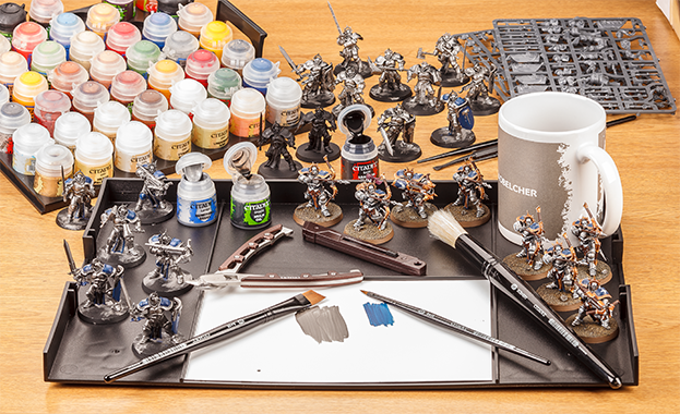 Image result for painting warhammer models