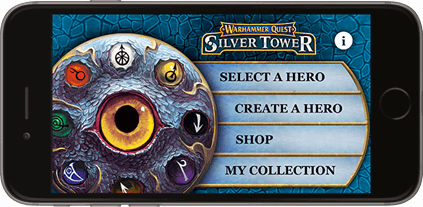 Warhammer Quest: Silver Tower - My hero companion app