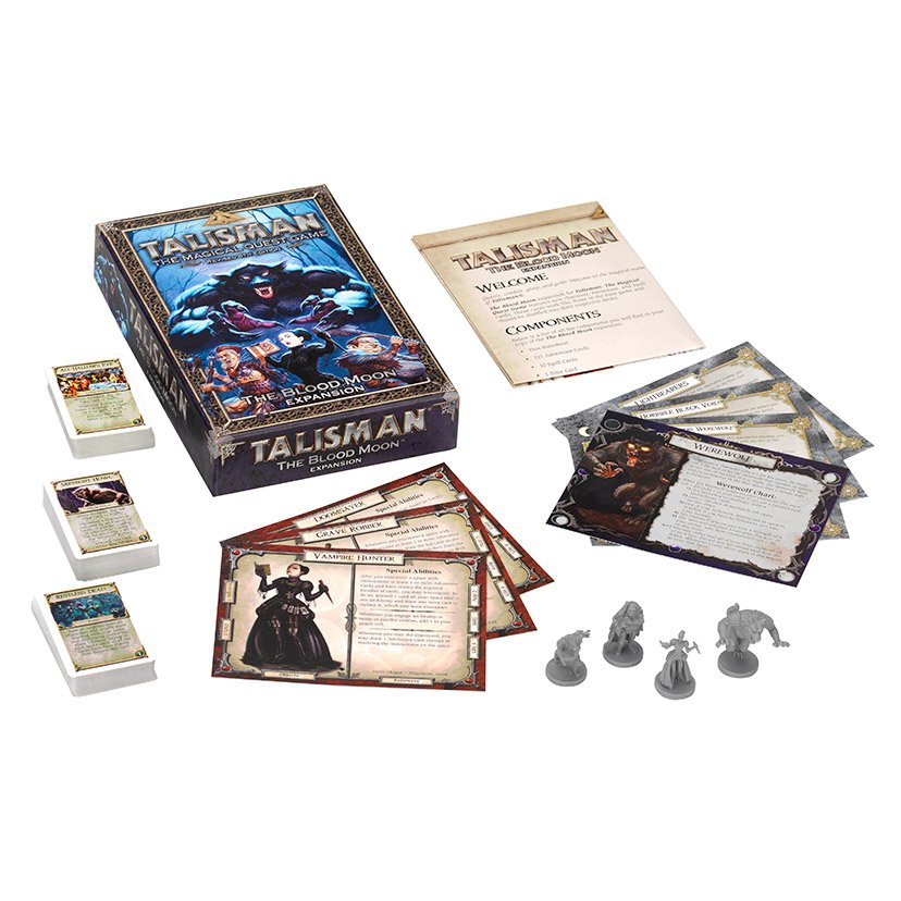 Talisman: The Dragon box contents