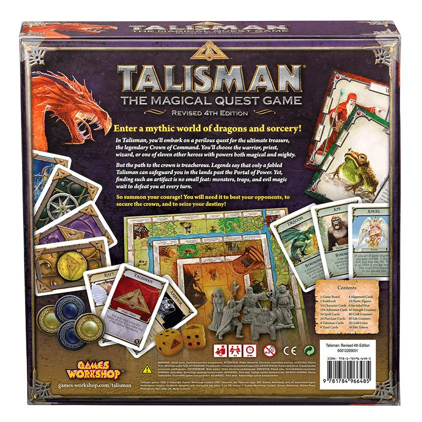 Talisman box back