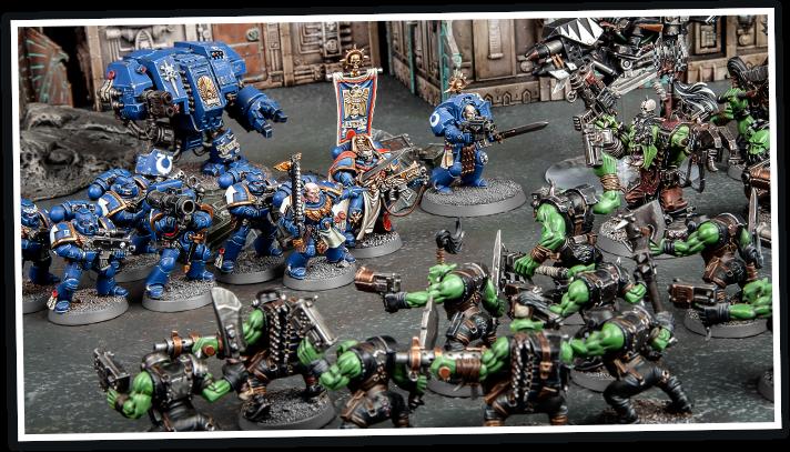 Resultado de imagen de warhammer 40.000 battle