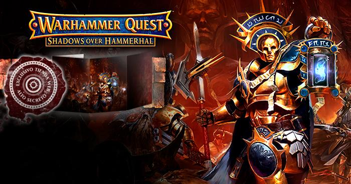 Warhammer Quest&nbsp;<br /> Shadows Over Hammerhal