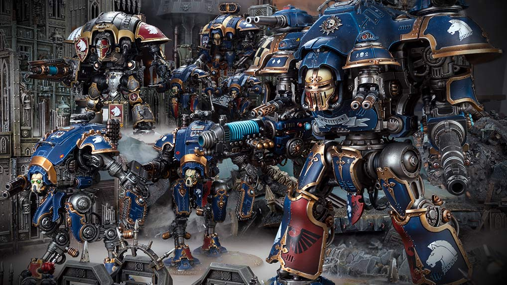 Warhammer 40000 games workshop webstore imperial knights fandeluxe Image collections